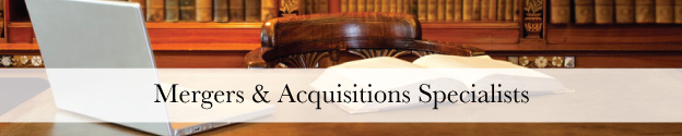 Mergers & Acquisitions Specialists Header