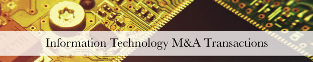 Information Technology M&A Transactions Header
