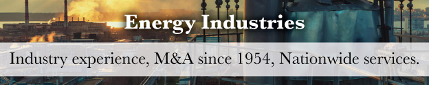 Energy Mergers and Acquisitions Header