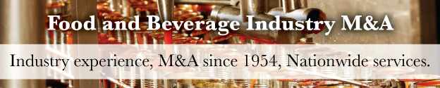 Food and Beverage Mergers and Acquisitions Header