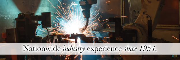 Nationwide industry experience since 1954.