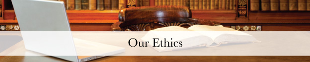 Our Ethics Header