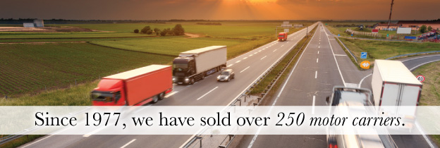 Chapman Associates - Middle Market Mergers & Acquisitions • Since 1977, we have sold over 250 motor carriers.