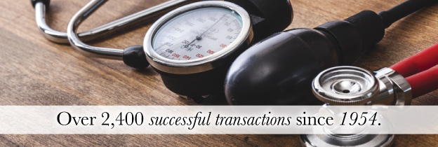 Over 2,400 successful transactions since 1954.